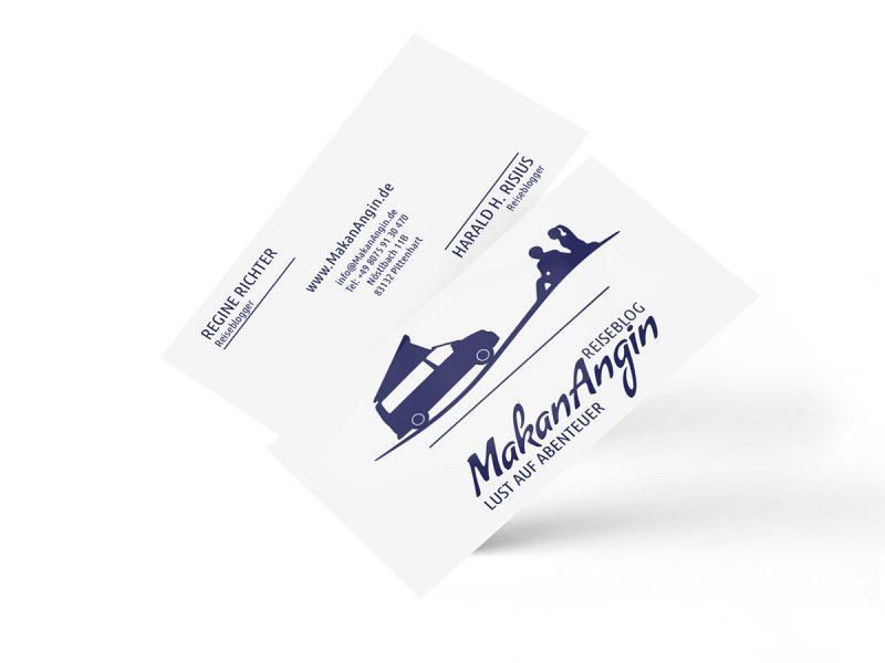 Visitenkarten mit partiellem Lack | Print Design