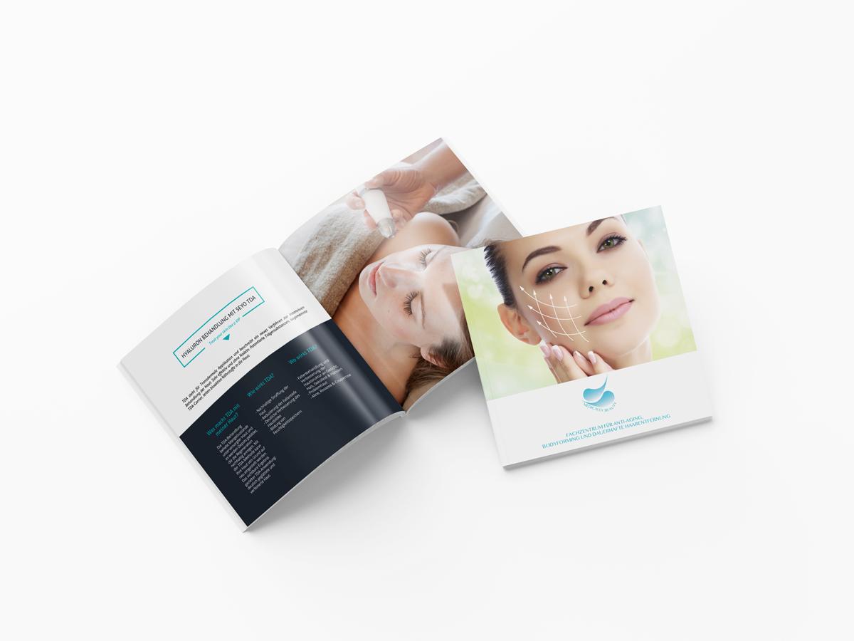 Medically beauty | Broschüre |Print Design